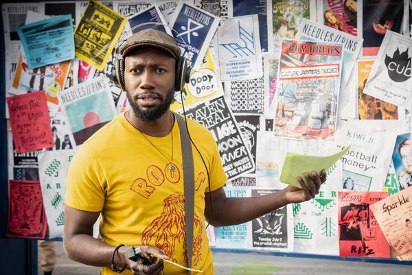 Lamorne Morris plays cartoonist Keef Knight in the Hulu comedy <em>Woke. </em>The character is based on Keith Knight, the show's co-creator.