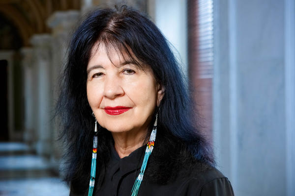 U.S. Poet Laureate Joy Harjo has authored numerous books of poetry, two children's books and a memoir, <em>Crazy Brave.</em> She is a member of the Mvskoke Nation.