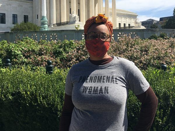 "Renee-Lauren Ellis, a Washington, D.C.-area attorney, says, ""It's dire that something as fundamental as what I do with my body is up for debate still, in 2020."""