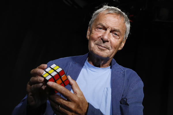 """Architect and inventor Ernő Rubik says people were shocked when he didn't become a full-time puzzle maker after the success of his Rubik's Cube. His new book is called <em><a href=""""https://us.macmillan.com/books/9781250217783"""" data-key=""""21"""">Cubed: The Puzzle of Us All</a>.</em>"""