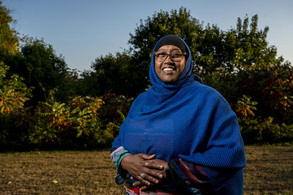 Originally from Somalia, Deqa Dhalac immigrated to Maine in 2005. She works for the Maine Department of Education and serves on South Portland City Council. Dhalac says it can be challenging to bridge different cultural understandings of mental health.