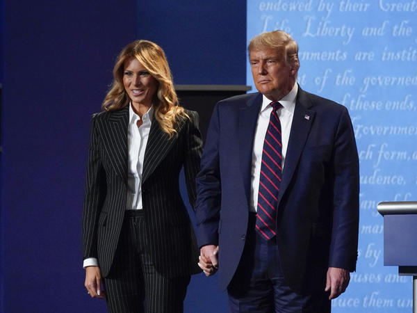 """President Trump and first lady Melania Trump have both tested positive for the coronavirus. The White House doctor said Trump would continue """"carrying out his duties without disruption while recovering"""" from the virus."""