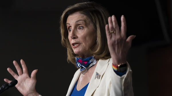House Speaker Nancy Pelosi, who is second in the line of succession, tested negative for the coronavirus on Friday.