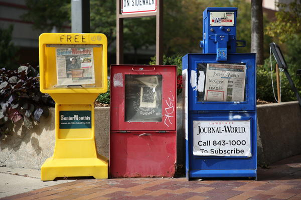 Local newspapers in Kansas say the pandemic has boosted their pageviews and subscriptions.