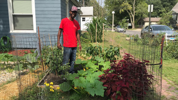 With more time on his hands due to the pandemic, Robert Jones got serious about gardening this year.