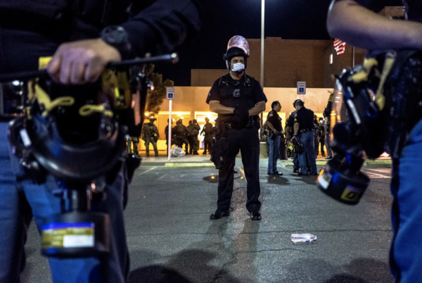 During a contentious campaign season, Texas police are gearing up for possible unrest on election night.