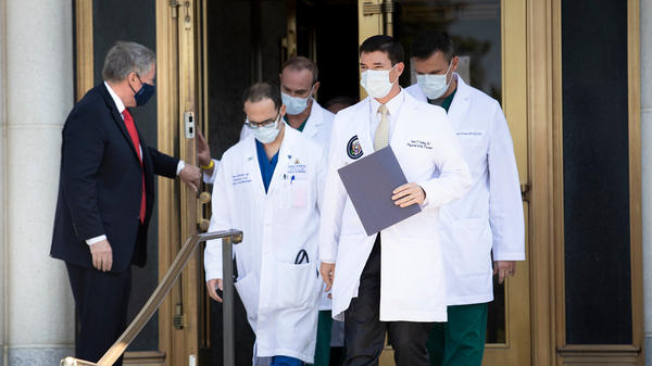 Transcript: Sunday Update On Trump's Health From His Doctors | WXXI News