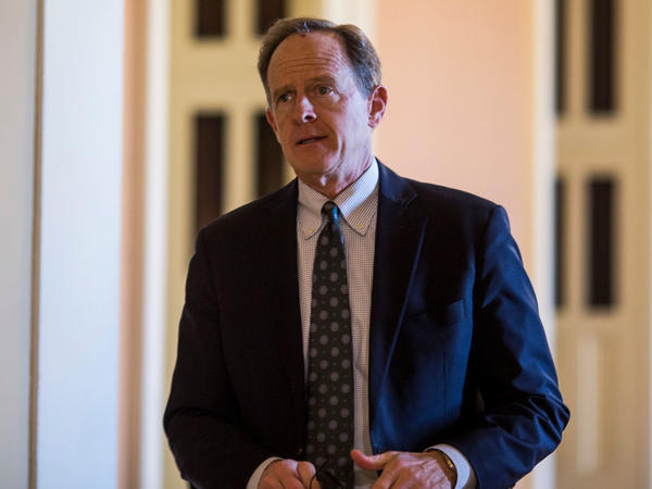 Sen. Pat Toomey. R-Pa., said he's returning to the private sector instead of running for reelection to his Senate seat.