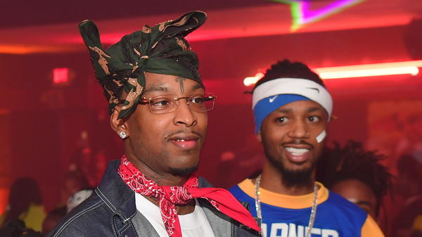 21 Savage and Metro Boomin in Atlanta in 2019. The duo recently released <em>Savage Mode II</em>, which feels like a big-budget revenge thriller.