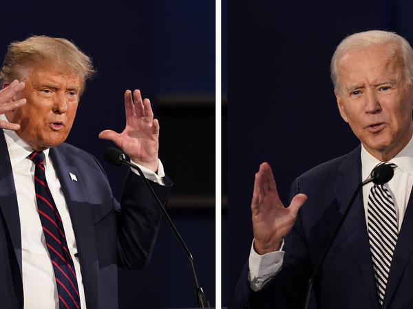 President Trump said he won't participate in a virtual town hall with Joe Biden, after the commission that organizes the presidential debates announced a change in format because of the coronavirus.