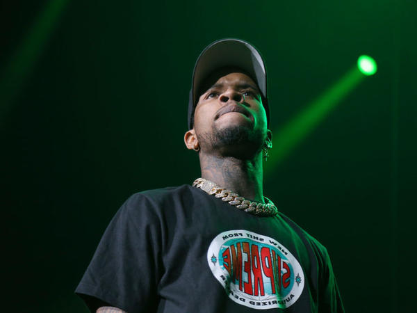 Rapper Tory Lanez, performing in Newark, N.J. in Sept. 2019.