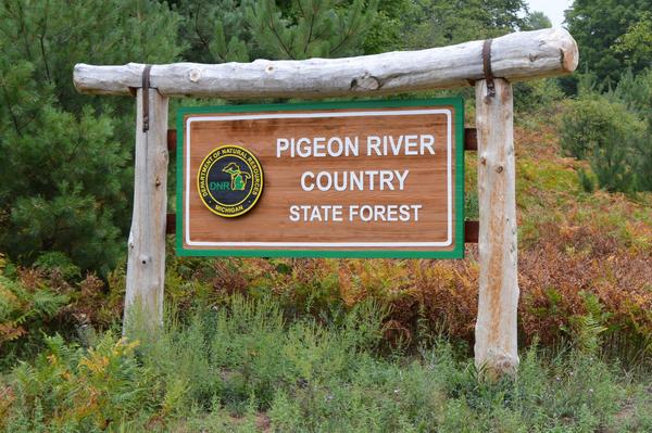 One of the first state parks to benefit from the Natural Resources Trust Fund.