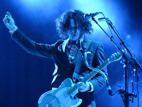 Jack White performs during the 2014 Bonnaroo Music & Arts Festival. This week, he will perform as <em>SNL</em>'s musical guest.
