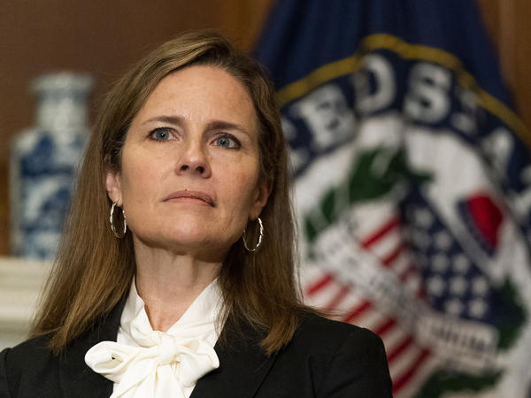 Judge Amy Coney Barrett, President Trump's nominee for the Supreme Court.