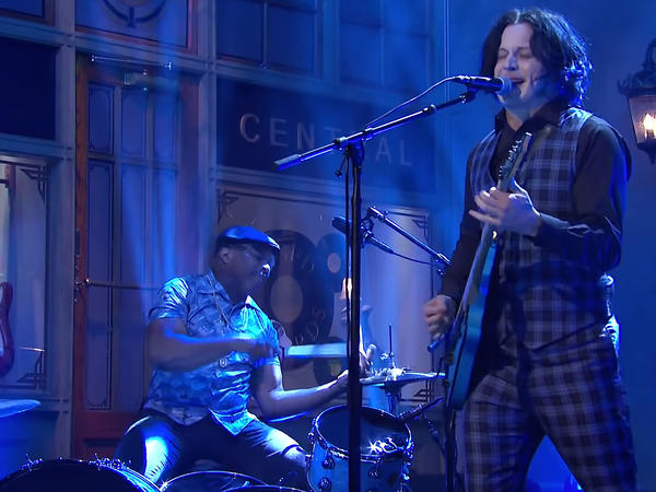 "Jack White, performing ""Lazaretto"" on <em>Saturday Night Live.</em>"