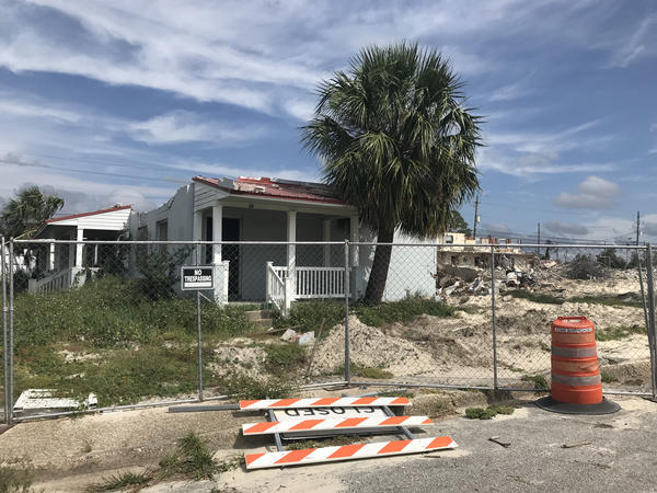 The demolition of Massalina Memorial Homes continues on Friday, Oct. 9, 2020, nearly two years after Hurricane Michael destroyed the subsidized housing complex.