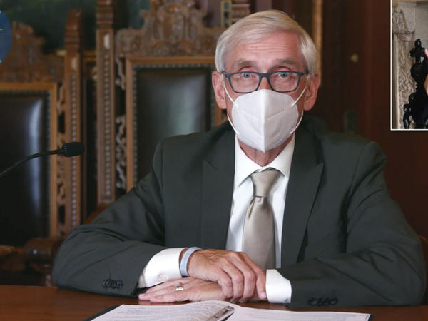 A Wisconsin judge upheld Gov. Tony Evers' order mandating that face coverings be worn in enclosed spaces statewide, save for a few exceptions. A conservative legal group challenged the measure, arguing that Evers overstepped his authority in issuing successive emergency orders.