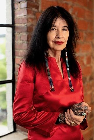 A headshot of the 23rd US Poet Laureate, Joy Harjo provided by Montana State University.