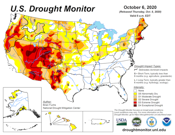 Our region is in the grip of prolonged drought.