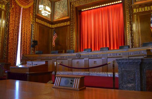 Ohio Supreme Court chambers.