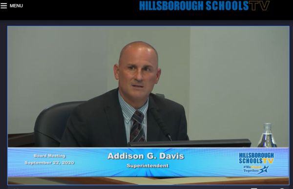 Superintendent Addison Davis says he will preserve arts programs as the districts struggles to make up for a cash crunch.