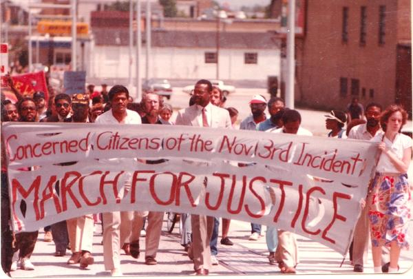 March for justice after Greensboro Massacre