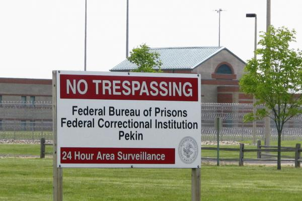 The Federal Correctional Institution in Pekin.