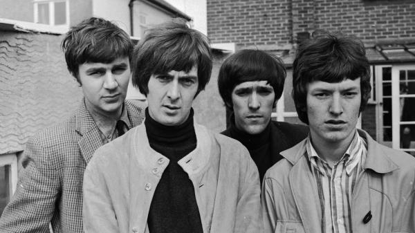 The Spencer Davis Group in 1966: Pete York (from left), Spencer Davis, Muff Winwood and Steve Winwood. Davis died Monday at the age of 81.