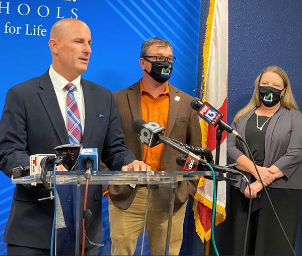 Hillsborough County Public Schools Supt. Addison Davis announced Tuesday that, thanks to state funding, $38 million will go to teacher salary adjustments this year.