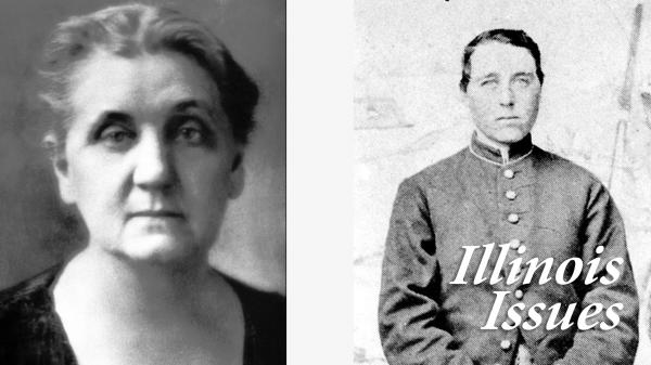 Jane Addams and Albert Cashier, right, are LGBTQ figures teachers may choose to discuss within the new inclusive curriculum. Addams, left, was a lesbian and founder of Hull House settlment in Chicago. Cashier was a transgender Civil War soldier,