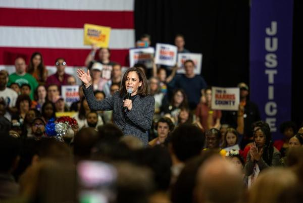 U.S. Sen. Kamala Harris, the Democratic vice presidential nominee, is expected to visit Fort Worth, Houston and McAllen on Friday, the last day of early voting before Tuesday's election.