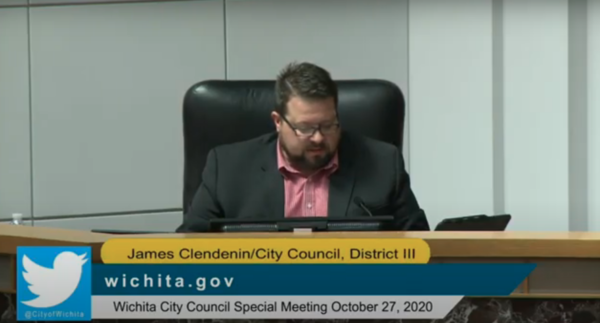 City Council members approved a motion denouncing James Clendenin, who denies involvement in a false 2019 campaign ad attacking Mayor Brandon Whipple.