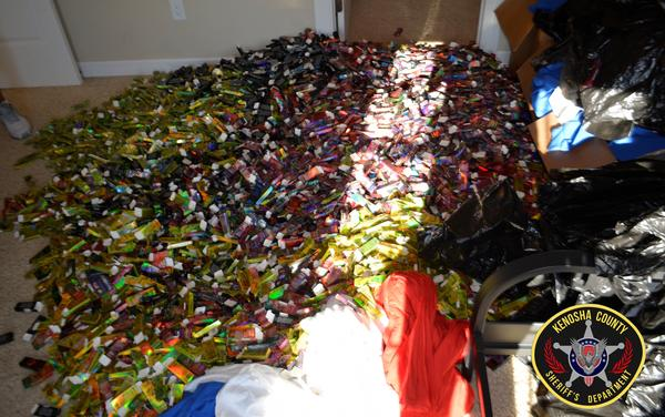 Kenosha County, Wis., law enforcement officials discovered 31,000 THC-filled cartridges in a condo.