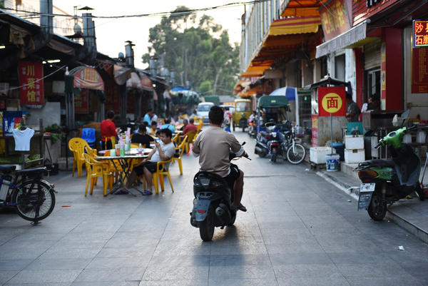 "The southern Chinese city of Dongguan is feeling the effects of the trade war with the U.S. Nicknamed the ""workshop of the world,"" the city is a sprawling manufacturing hub of more than 8 million people."