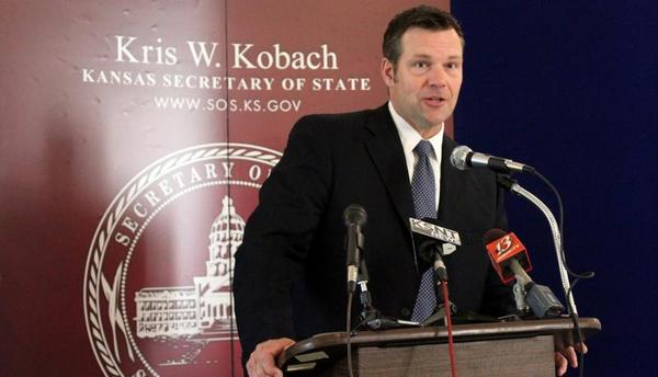 Former Kansas Secretary of State Kris Kobach hired a voter fraud investigator with no police experience, according to FBI documents.