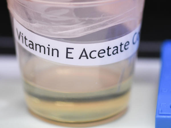 The Centers for Disease Control and Prevention in Atlanta said Friday that fluid extracted from the lungs of 29 injured patients who vaped all contained the chemical compound vitamin E acetate.