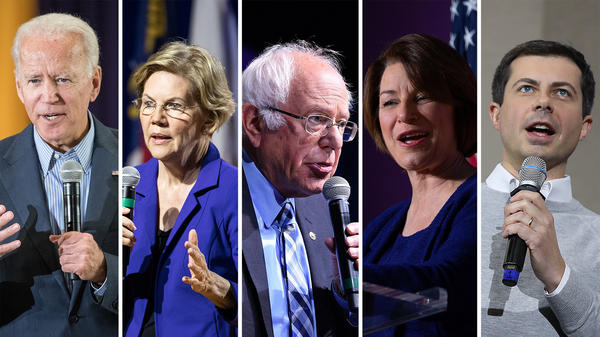 Former Vice President Joe Biden, Massachusetts Sen. Elizabeth Warren, Vermont Sen. Bernie Sanders, Minnesota Sen. Amy Klobuchar and South Bend, Ind., Mayor Pete Buttigieg are some of the 10 candidates who have qualified for the Democratic presidential primary debate next week on Nov 20.