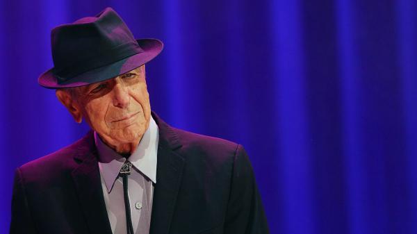 Leonard Cohen, performing at Rod Laver Arena on November 20, 2013 in Melbourne, Australia.