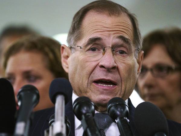 House Judiciary Committee Chairman Jerry Nadler, D-N.Y., wants access to witnesses and documents as part of a look into potential political influence at the Justice Department.