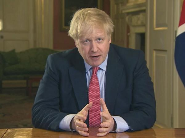 British Prime Minister Boris Johnson has ordered the closure of most retail stores and banned public gatherings of more than two in a stepped-up response to slow the coronavirus.