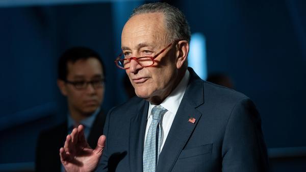 Senate Minority Leader Chuck Schumer, Democrat of New York