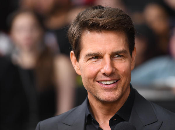 NASA confirmed that actor Tom Cruise and private spaceflight company Space X are considering a feature film shot on board the International Space Station. Cruise is shown above in New York City in June 2017.