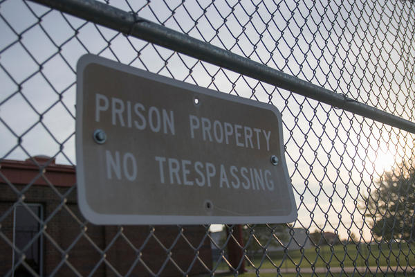 A view of the Topeka Correctional Facility in Topeka, which has fewer than 10 coronavirus cases.