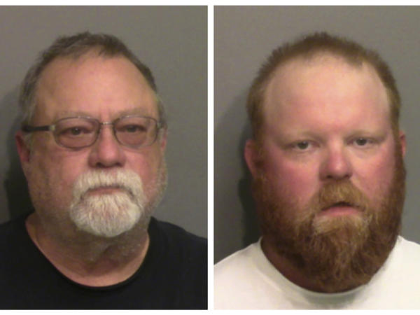 Gregory McMichael and his son Travis McMichael have been charged with murder in the February shooting death of Ahmaud Arbery. A video apparently shows them pursuing him in a truck as he jogged in their neighborhood.