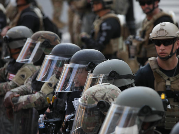 Security forces take measures on the sixth consecutive day of protests over police violence.