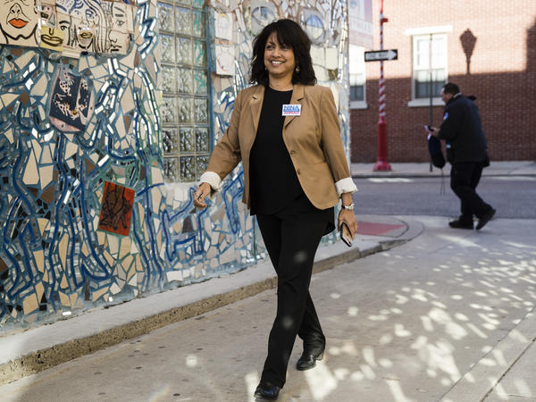 Nina Ahmad declared victory as the Democratic nominee for Pennsylvania auditor general nine days after the state's June 2 primary.
