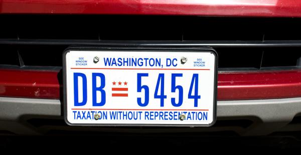 For decades, D.C. license plates have bemoaned the district's lack of representation. There are renewed efforts in Congress to grant D.C. statehood.
