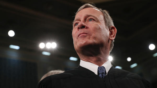 Chief Justice John Roberts, here at the State of the Union address in February, has concluded a momentous term with the Supreme Court.