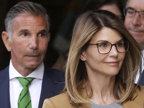 Actress Lori Loughlin and her husband, clothing designer Mossimo Giannulli, pleaded guilty in May for their roles in a nationwide college admissions bribery scandal.