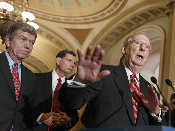 Senate Majority Leader Mitch McConnell, R-Ky., called Democrats' latest COVID-19 bill a political stunt as negotiators attempt to reach a relief agreement before the election.